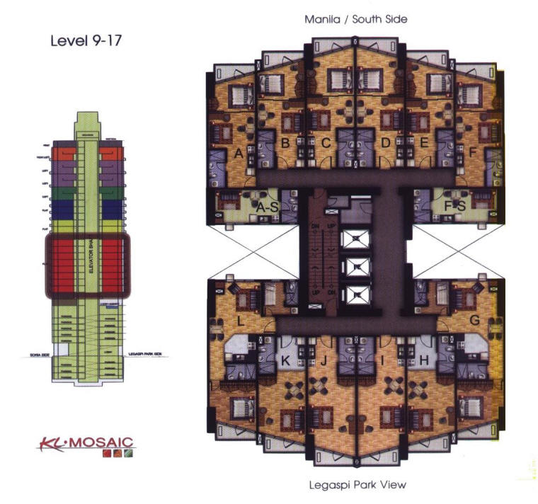 AWB Luxury Condominium Floor Plans « « Anthony Wayne Building