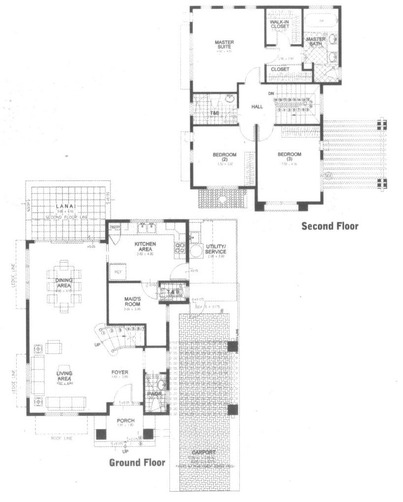 Philippines Modern House Floor Plan