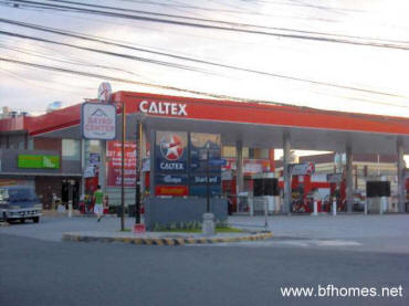 Pictures of BF Homes Paranaque - Caltex Gas station