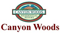Logo of Canyon Woods Resort in Tagaytay, Philippines